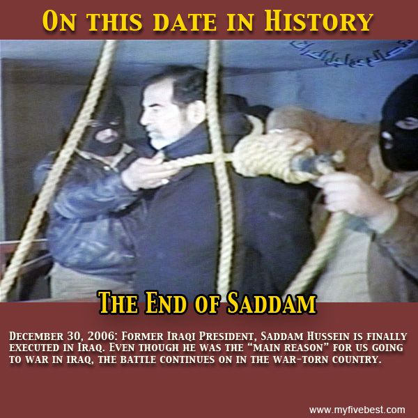 An introduction to the history of saddam hussein
