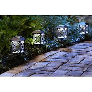 Solar Walk Way Lanterns!!! Store up to 8 Hours - No electricity or candles needed!!! These are beyond brilliant!