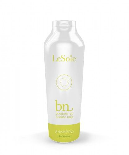 Bonjour & Bonne Nuit Fresh Melon Shampoo is made to nourish the hair and helps prevent hair breakage while washing. It is a very soft and gentle shampoo that is developed for daily use.