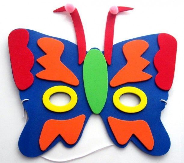 Maschera da farfalla per bambine