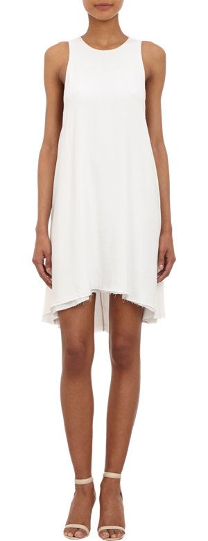 T by Alexander Wang Crepe Trapeze Dress at Barneys.com