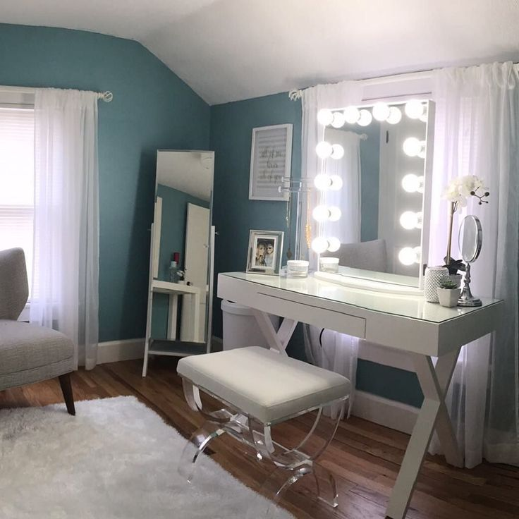 Featured: Impressions Vanity Glow XL With LED Bulbs What An Amazing  Surprise! Ladies My Boyfriend Created A Vanity Room For ...
