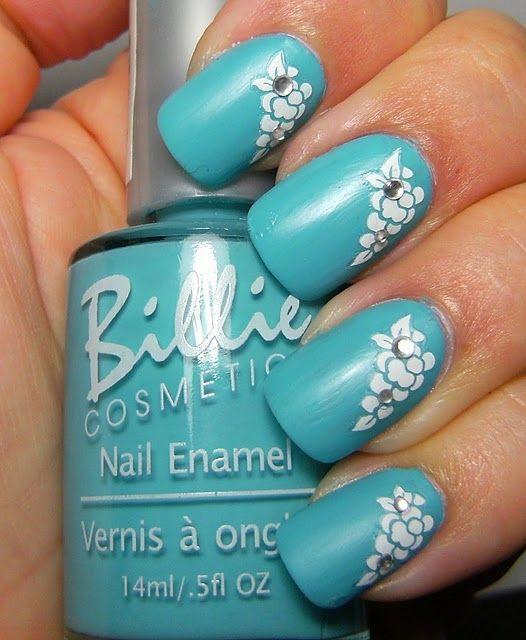 1000+ Ideas About Turquoise Toe Nails On Pinterest