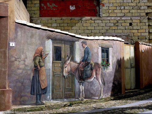 L'arte dei murales Nureci Sardegna #TuscanyAgriturismoGiratola