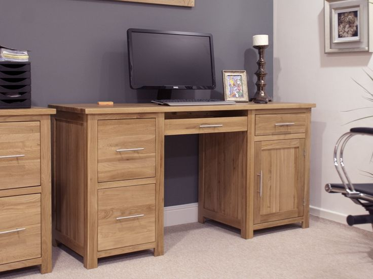 99+ solid Oak Desks for Home Office - Contemporary Home Office Furniture Check more at http://www.sewcraftyjenn.com/solid-oak-desks-for-home-office/