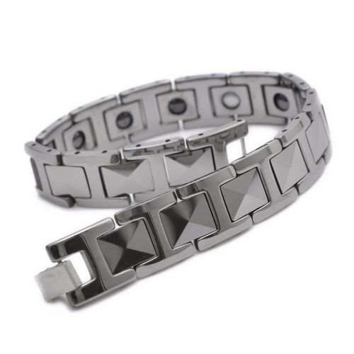 """Cheap bracelet ribbon, Buy Quality bracelet locator directly from China bracelet Suppliers:  PRODUCT ID: B666 METAL: Tungsten COLOR: Silver SIZE: L: 8.7"""", W:12mm"""