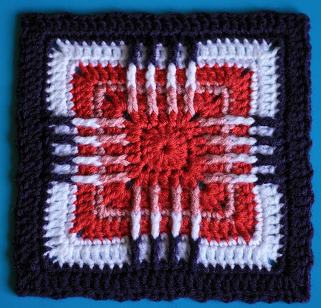 Patriots Crochet Afghan Pattern Free : 1000+ images about mycrochet patriotic grannies on Pinterest