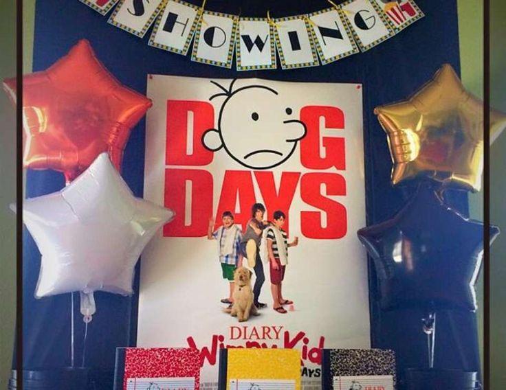 Brandon's 11th Diary of a Wimpy Kid Movie Birthday Party