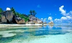 Source d'Argent, La Digue Island, Seychelles