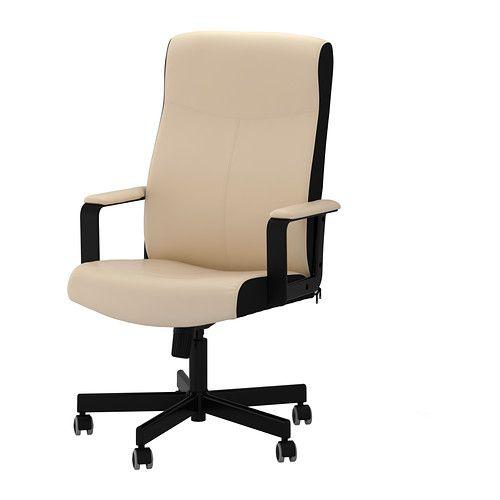 MALKOLM Cadeira giratória IKEA Altura regulável para uma postura confortável.