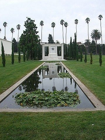 Douglas Fairbanks, Sr. (1883-1939) and Douglas Fairbanks, Jr. (1909-2000) Actors Grave Location: Hollywood Forever Hollywood Cal.