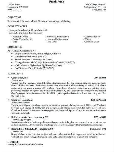 8 best Student Resume Templates images on Pinterest Resume - resume templates for college students