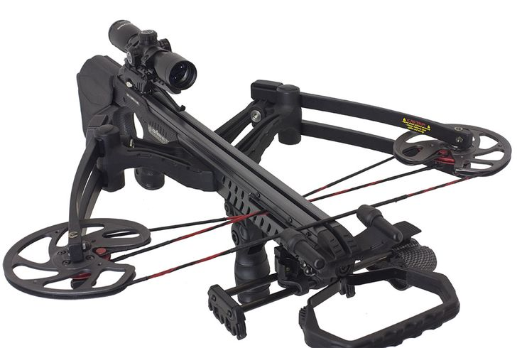 Barnett Vengeance is likely the most well-balanced crossbow available.