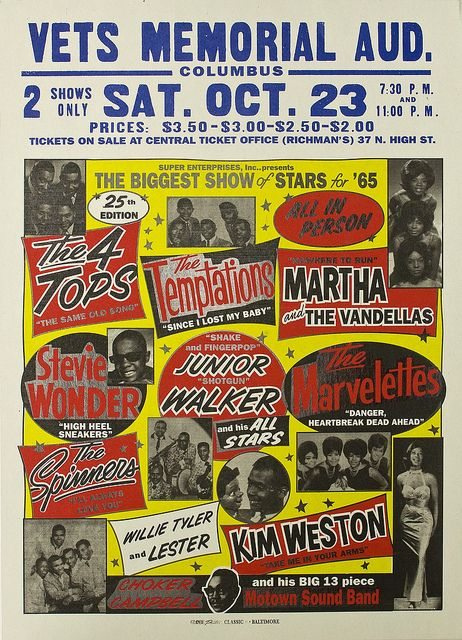 I saw the Motown Review for the first time at the Howard Theater Washington,DC in October 1962 when I was a Freshman at Howard University