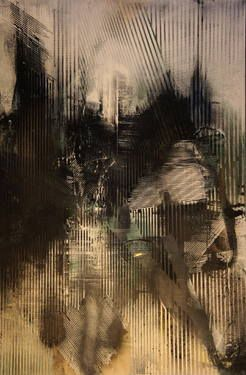 "Saatchi Art Artist Mélisa Taylor; Painting, ""Cavalier"" #art"