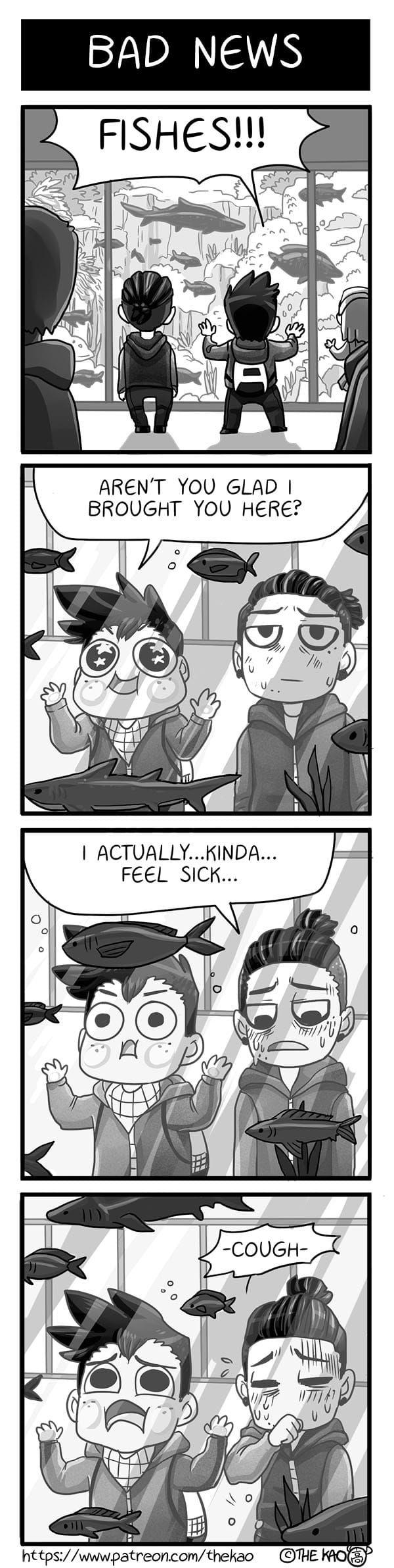 Mondo Mango :: Bad News   Tapastic Comics - image 1