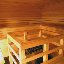 #VIP #saunakabinetti has a capacity to fit 30 people to enjoy the feeling of sauna.