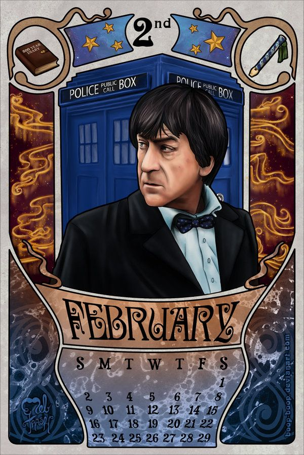 Calendar Art Sci : Best images about nd doctor patrick troughton on