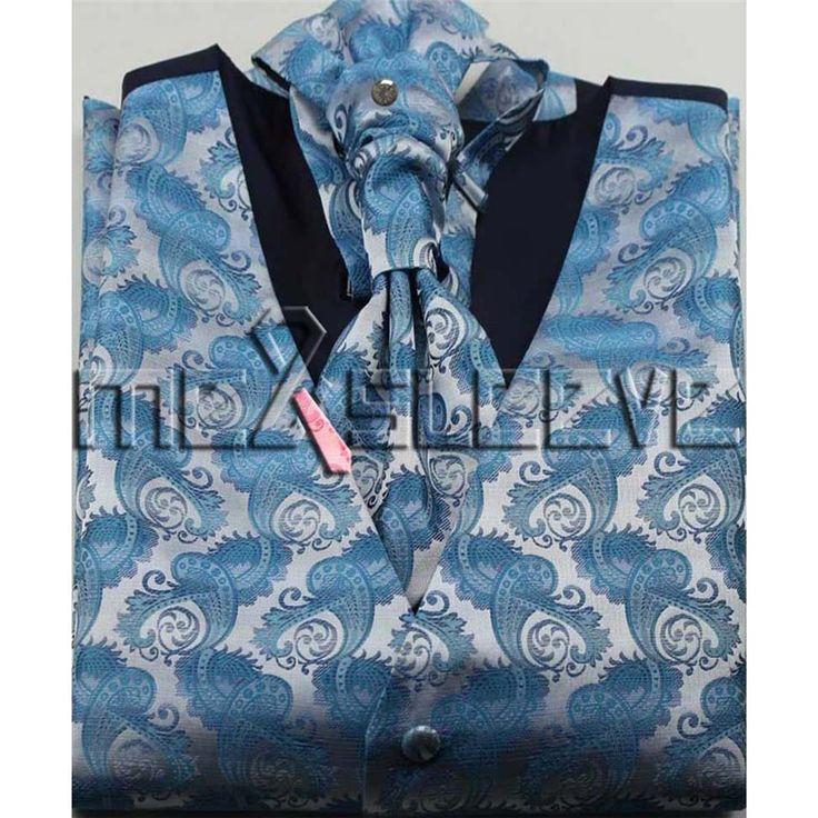 hot Wholesale cheap men's suits high quality waistcoat 4pcs