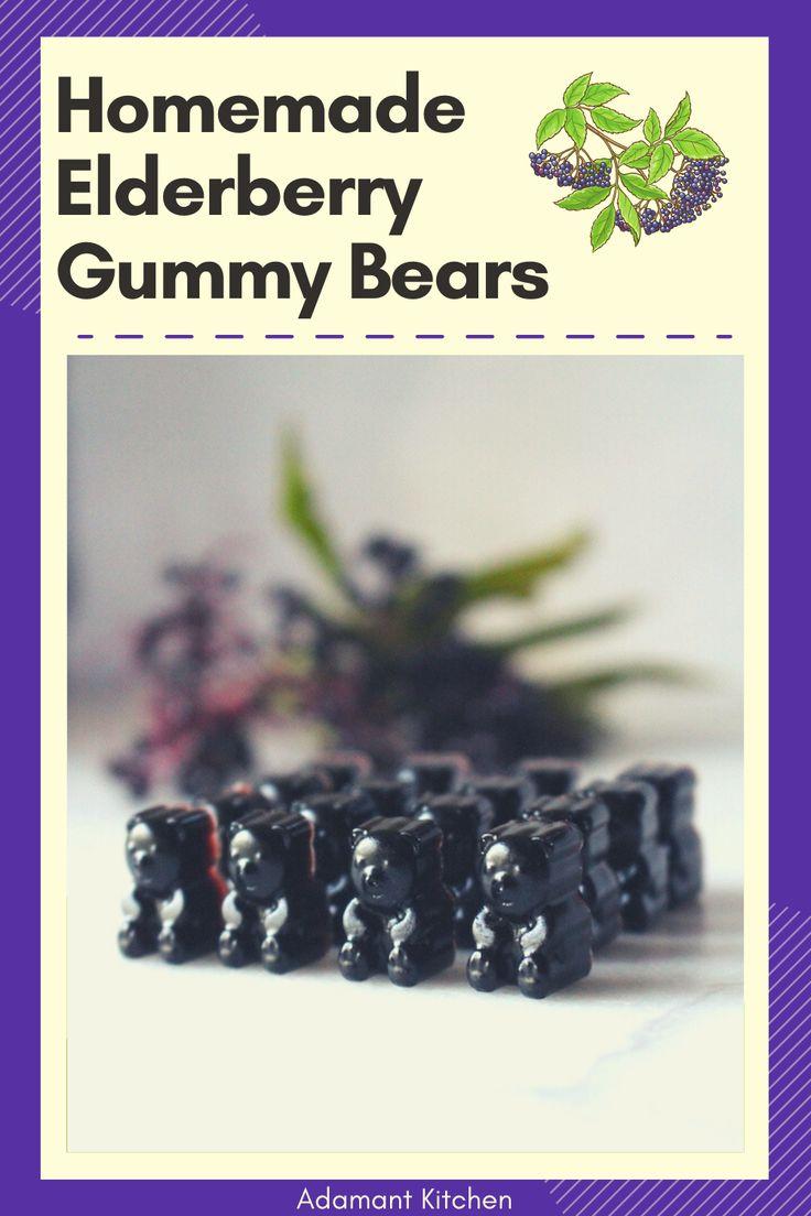 Homemade elderberry gummies recipe in 2020 homemade