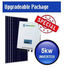 5kw solar system Upgradeable Package #5kw #solarpower #solarenergy #solarpanels #specials