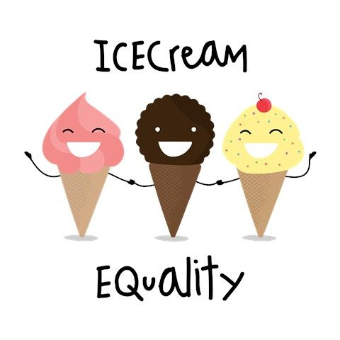 Icecream equality!