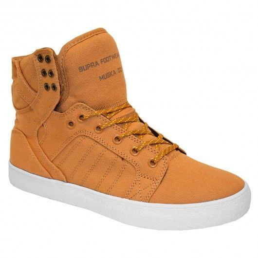 Supra Skytop golden oak pumpkin chaussures montantes 99€ #supra #supraskytop #skytop #skytopsupra #suprashoes #suprafootwear #muska #chad #chadmuska #supramuska #suprafoam #swag #hype #mode #montante #montantes #chaussuremontante #chaussuresmontantes #highshoes #hishoes #highshoe #streetart #skate #skateboard #skateboarding #streetshop #skateshop @PLAY Skateshop