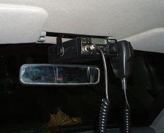 Jeep Cherokee Interior - XJ In Dash C.B. Mounting Locations