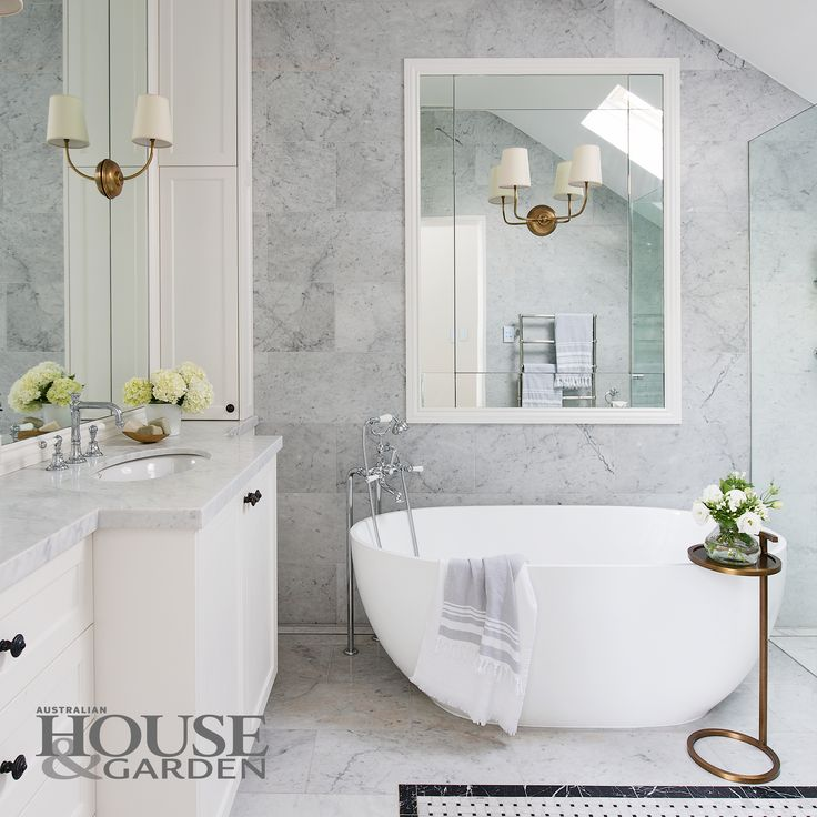 Exquisite Carrara Marble Wall And Floor Tiles From Marble U0026 Ceramic Corp  Distinguish This Ensuite.