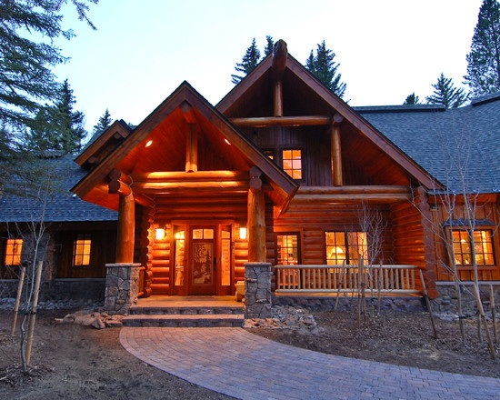 Log Home Design Pictures Remodel Decor And Ideas Page 2 Yard Pinterest Logs Cabin