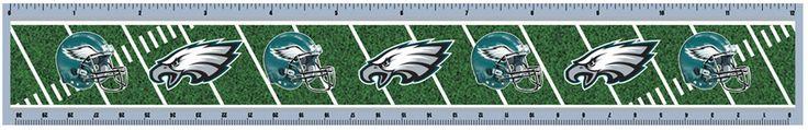 NFL Philadelphia Eagles 2pk 3-D Ruler Case Pack 72