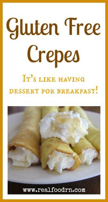Gluten Free Crepes #paleo #glutenfree #crepes