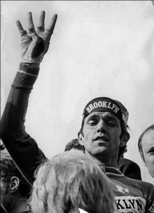 Roger De Vlaeminck - four victories in Paris Roubaix.