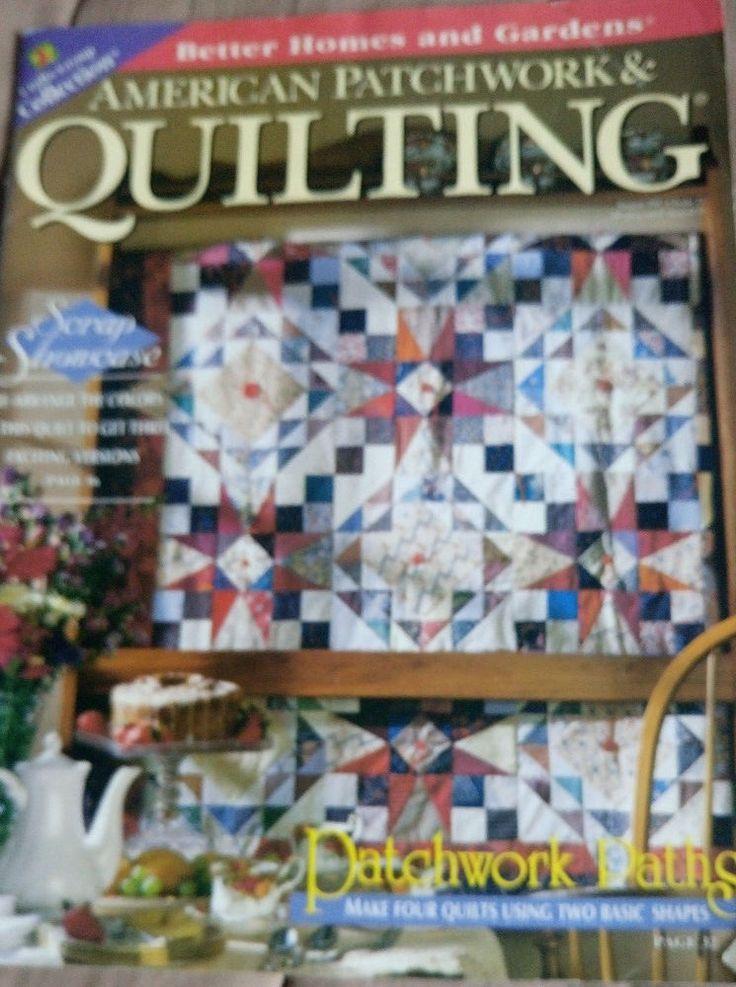 American Patchwork & Quilting magazine August 1997 #BetterHomesGardens