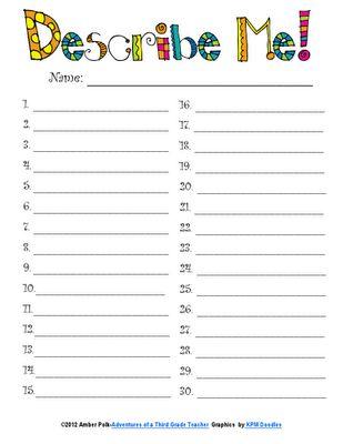 "Great ideas for using the ""Wordle"" site...: Polka Dotted Teacher, Teaching Ideas, Adventures, Wordle Ideas, School Ideas, Year, Tech Savvy, Teachers, Word Clouds"