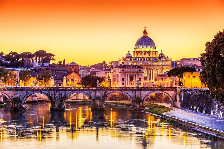 Vatikanstaten (0,44 km²)
