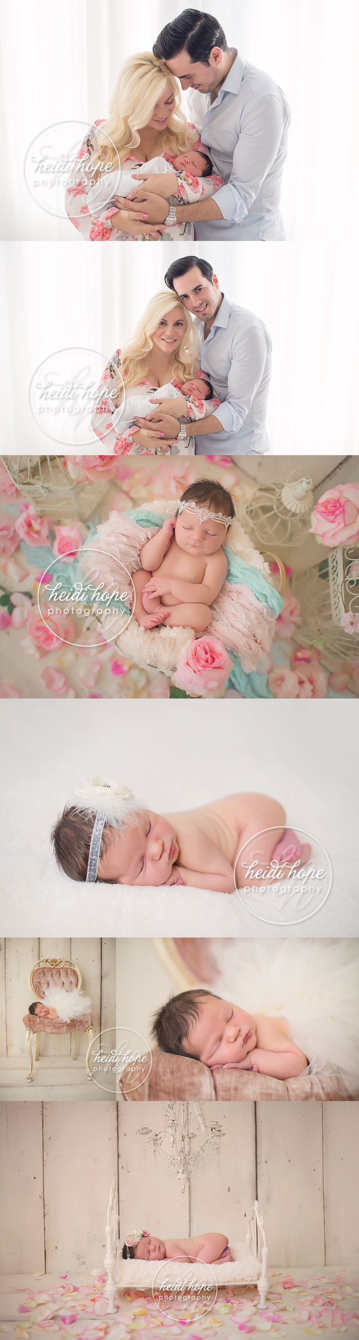 She's so fancy! Newborn baby I's session sneak peek. (Heidi Hope Photography)