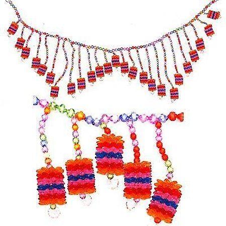 Colorful Beads- Door Hanging #Diwali #Decoration