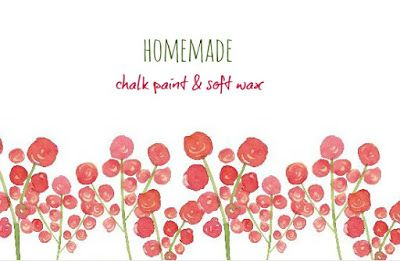 misirloumisirlou: HOMEMADE CHALK PAINT &  SOFT WAX RECIPES