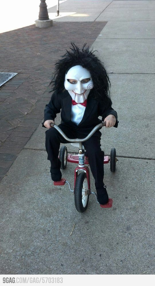 So extremely disturbing kids costume | Funnies ;) | Pinterest |Disturbing Halloween Costumes
