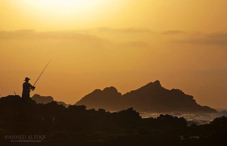 Oman | Fishing in Ras Madrakah. credit: Ahmed Altoqi. view on Fb https://www.facebook.com/SinbadsOmanPocketGuide #oman #traveltooman