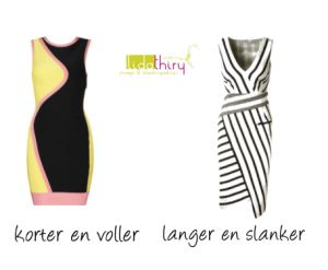 Ronde en rechte lijnen in kleding | www.lidathiry.nl | #SlankerLijken #kledingtip #stijltip