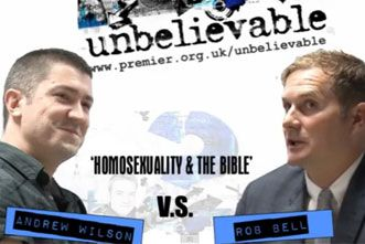 Must See: Rob Bell and Andrew Wilson Debate Homosexuality and the Bible
