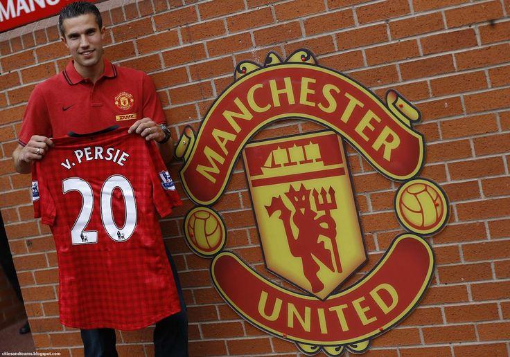 Van Persie Manchester United Images
