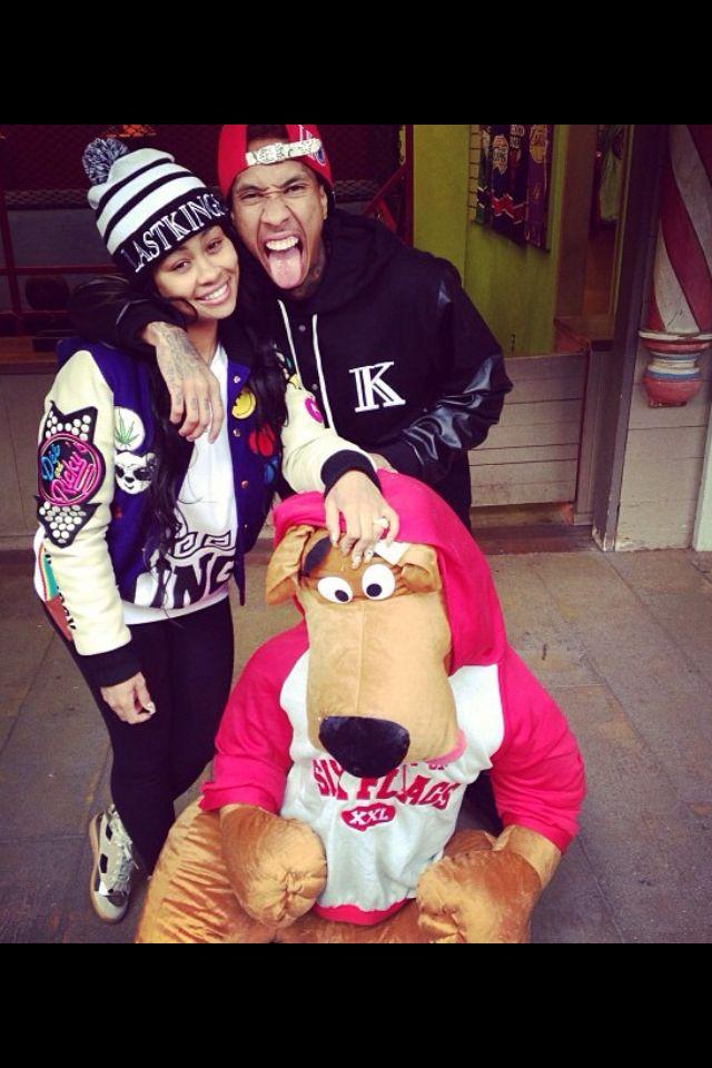 Blac Chyna and Tyga New Hip Hop Beats Uploaded  http://www.kidDyno.com
