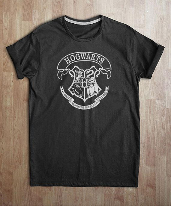 Hogwarts t shirt Hogwarts Alumni Logo Harry Potter by SOFUTOSUnGS