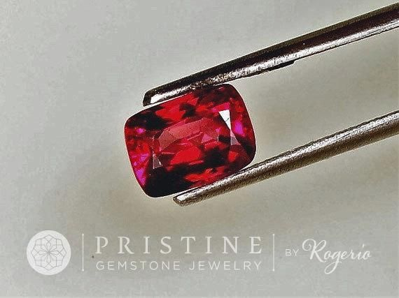 Red Spinel Cushion Shape 7.7 x 5.7 MM Wholesale Gemstone for Engagement Ring