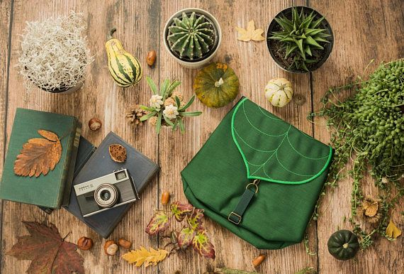 CUSTOM Leaf Mini Backpack Woman's Backpack Waterproof