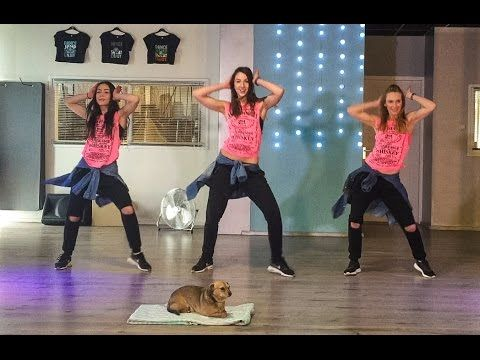 Mas Macarena - Gente de Zona - Easy Fitness Dance Choreography Baile Coreografia - YouTube
