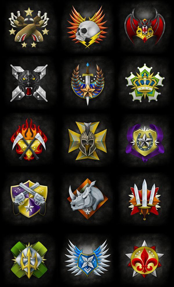 Prestige Emblem Design by Evan Eckard, via Behance